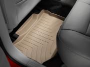Chrysler 300C 2005-2010 - Коврики резиновые с бортиком, задние, бежевые. (WeatherTech) фото, цена