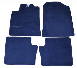 Toyota Corolla 2001-2005 - Коврики тканевые к-т 4 шт.синие (Toyota) фото, цена