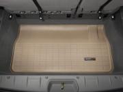Chrysler Town & Country Van 2005-2014 - Коврик резиновый в багажник, бежевый. (WeatherTech) фото, цена