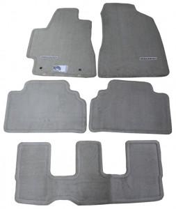 Toyota Highlander 2001-2008 - Коврики тканевые к-т 5 шт. бежевые фото, цена