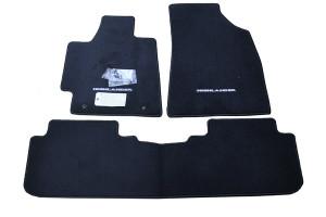 Toyota Highlander 2008-2013 - Коврики тканевые, комплект 3 штуки. (Toyota) фото, цена