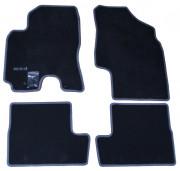 Toyota Rav 4 2000-2004 - Коврики тканевые, серые, комплект 4 штуки (Toyota) фото, цена