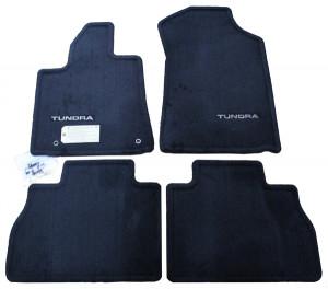 Toyota Tundra 2007-2012 - Коврики тканевые, черные, комплект 4 штуки (Toyota) фото, цена
