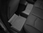 Dodge Avenger 2012-2014 - Коврики резиновые с бортиком, задние, черные. (WeatherTech) фото, цена