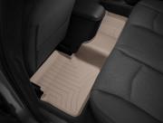 Dodge Avenger 2012-2014 - Коврики резиновые с бортиком, задние, бежевые. (WeatherTech) фото, цена