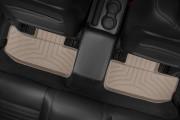Dodge Challenger 2011-2015 - Коврики резиновые с бортиком, задние, бежевые. (WeatherTech) фото, цена