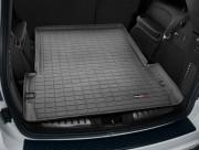 Dodge Durango 2011-2014 - (5 мест) Коврик резиновый в багажник, черный. (WeatherTech) фото, цена