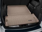 Dodge Durango 2011-2014 - (5 мест) Коврик резиновый в багажник, бежевый. (WeatherTech) фото, цена