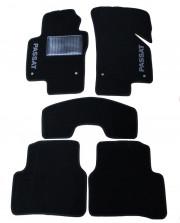 Volkswagen Passat 2005-2010 - Коврики тканевые, черные, комплект 4 штуки. (ML) фото, цена