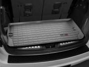 Dodge Durango 2011-2014 - (7 мест) Коврик резиновый в багажник, черный. (WeatherTech) фото, цена