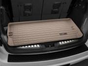 Dodge Durango 2011-2014 - (7 мест) Коврик резиновый в багажник, бежевый. (WeatherTech) фото, цена