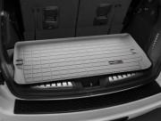 Dodge Durango 2011-2014 - (7 мест) Коврик резиновый в багажник, серый. (WeatherTech) фото, цена