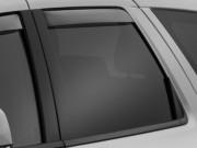 Dodge Durango 2011-2014 - Дефлекторы окон (ветровики), задние, светлые. (WeatherTech) фото, цена
