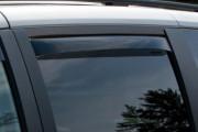 Dodge Grand Caravan 2008-2014 - Дефлекторы окон (ветровики), задние, темные. (WeatherTech) фото, цена
