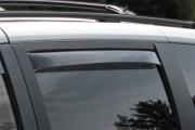 Dodge Grand Caravan 2008-2014 - Дефлекторы окон (ветровики), задние, светлые. (WeatherTech) фото, цена