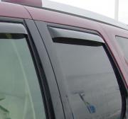 Dodge Journey 2008-2014 - Дефлекторы окон (ветровики), задние, темные. (WeatherTech) фото, цена