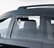 Dodge Journey 2008-2014 - Дефлекторы окон (ветровики), задние, светлые. (WeatherTech) фото, цена