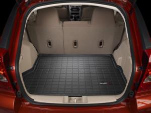 Dodge Caliber 2007-2012 - Коврик резиновый в багажник, черный. (WeatherTech) фото, цена