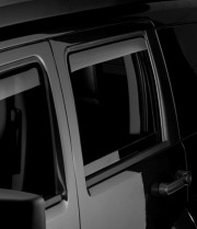 Dodge Nitro 2007-2011 - Дефлекторы окон (ветровики), задние, темные. (WeatherTech) фото, цена