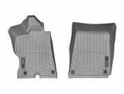 Ferrari FF 2012-2015 - Коврики резиновые с бортиком, передние, серые. (WeatherTech) фото, цена