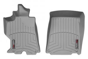 Ferrari California 2010-2015 - Коврики резиновые с бортиком, передние, серые. (WeatherTech) фото, цена