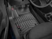 Fiat 500 2011-2015 - Коврики резиновые с бортиком, передние, черные. (WeatherTech) фото, цена