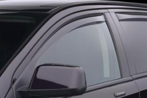 Ford Edge 2007-2014 - Дефлекторы окон (ветровики), передние, светлые. (WeatherTech) фото, цена