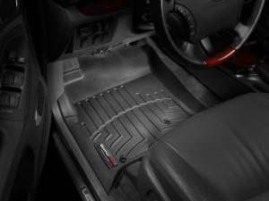 Toyota Land Cruiser Prado 2003-2008 - Коврики резиновые с бортиком, передние, черные. (WeatherTech) фото, цена