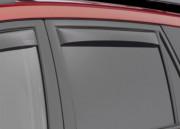Mercedes-Benz ML 2006-2011 - Дефлекторы окон (ветровики), задние, темные. (WeatherTech) фото, цена