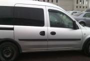 Opel Combo 2001-2011 - Дефлекторы окон (ветровики), комлект. (Cobra Tuning) фото, цена