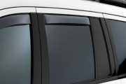 Mercedes-Benz GL 2007-2012 - Дефлекторы окон (ветровики), задние, темные. (WeatherTech) фото, цена
