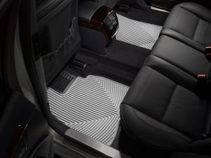 Mercedes-Benz S 2007-2013 - Коврики резиновые, задние, серые. (WeatherTech) фото, цена