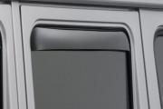 Mercedes-Benz G 1992-2015 - Дефлекторы окон (ветровики), задние, темные. (WeatherTech) фото, цена