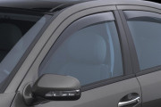Mercedes-Benz E 2003-2009 - Дефлекторы окон (ветровики), передние, светлые. (WeatherTech) фото, цена