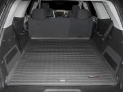 GMC Acadia 2007-2014 - (5 мест) Коврик резиновый в багажник, черный. (WeatherTech) фото, цена