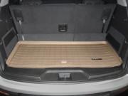 GMC Acadia 2007-2014 - (7 мест) Коврик резиновый в багажник, бежевый. (WeatherTech) фото, цена