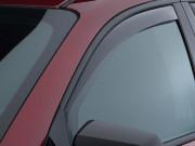 GMC Acadia 2007-2014 - Дефлекторы окон (ветровики), передние, светлые. (WeatherTech) фото, цена