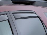 GMC Acadia 2007-2014 - Дефлекторы окон (ветровики), задние, светлые. (WeatherTech) фото, цена