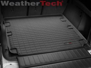 BMW X5 2014-2018 - (5 мест) Коврик резиновый в багажник, черный. (WeatherTech) фото, цена