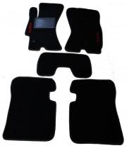 Subaru Legacy 2010-2014 - Коврики тканевые, черные, комплект 4 штуки. (Fortuna) фото, цена