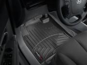 Hyundai Santa Fe 2006-2010 - Коврики резиновые с бортиком, передние, черные (WeatherTech) USA фото, цена