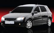Kia Cerato 2004-2009 - Дефлекторы окон (ветровики), комплект. (Clover) фото, цена