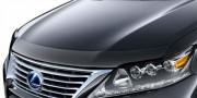 Lexus RX 2009-2015 - Дефлектор капота (мухобойка) темный (EGR) фото, цена