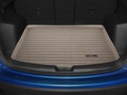 Mazda CX-5 2012-2015 - Коврик резиновый в багажник, бежевый. (WeatherTech) фото, цена