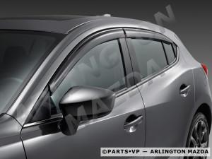 Mazda CX-5 2012-2014 - Дефлекторы окон (ветровики), комлект 4 шт. (Mazda) фото, цена