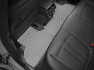 BMW X5 2014-2019 - Коврики резиновые с бортиком, задние, серые. (WeatherTech) фото, цена