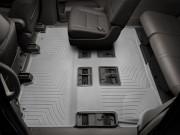 Toyota Highlander 2014-2019 - Коврики резиновые с бортиком, задние 2-3 ряды, серые. (WeatherTech) фото, цена