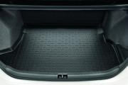 Toyota Corolla 2013-2015 - Коврик резиновый в багажник, черный. (Toyota) фото, цена
