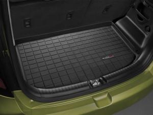 Kia Soul 2013-2015 - Коврик резиновый в багажник, черный (WeatherTech) фото, цена
