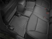 Kia Sorento 2014-2015 - Коврики резиновые с бортиком, задние, черные (WeatherTech) фото, цена